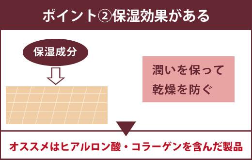 【ジェルキング用のローションを選ぶ3つのポイント】②保湿効果がある 肌の潤いを保って乾燥を防ぐ ▶オススメはヒアルロン酸・コラーゲンを含んだ製品